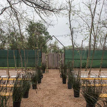 Photo for Tillery Place Review - The plants lining the aisle and benches were provided
