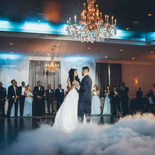 Photo for LJDJS Event Design and Entertainment Review - At the Mansion at Mountain Lakes, check it out.Cloud effect!