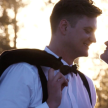 Photo for Boise Wedding Productions Review - Loved these sunset shots! This is a still from our video!