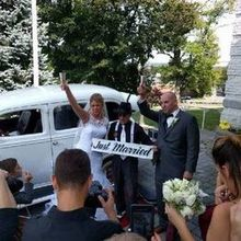 Photo for American Classic Wedding Car Service Review -  Toast after our ceremony