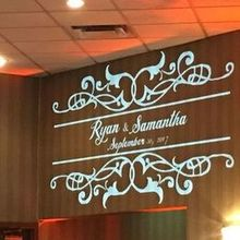 Photo of PVU Event Group in Pittsburgh, PA - The beautiful monogram on the wall.