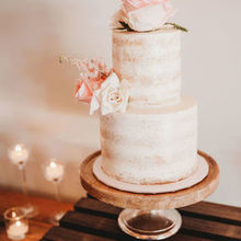 Photo for Sweet Dreams Wedding Cakes and Flowers Review - Sweetheart Cake (photo by Whitney Justesen)