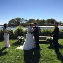 Photo of The Nonantum Resort in Kennebunkport, ME - Wedding ceremony by the Kennebunk River