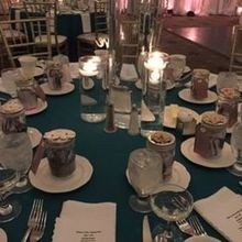 Photo for The Regal Ballroom Review - Table setting with favors
