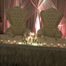 Photo for The Regal Ballroom Review - King and Queen chairs