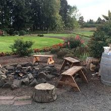 Photo of Carpe Diem Weddings and Events ( Natalie (Postlewait) Johnson) in Canby, OR - The s'mores pit