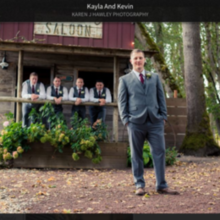 Photo of Carpe Diem Weddings and Events ( Natalie (Postlewait) Johnson) in Canby, OR - The saloon