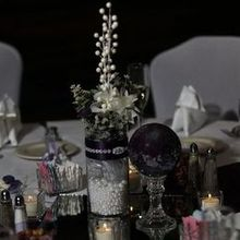 Photo of Crowne Plaza Springfield in Springfield, IL - The mirror, candles, and napkins were from