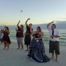Photo for Simple Seaside Ceremonies Review - Seashell toss