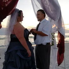 Photo for Simple Seaside Ceremonies Review - The big day at sunset on siesta beach!!