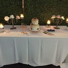 Photo for Provenance Rentals Review - Rented candlesticks and cake stand