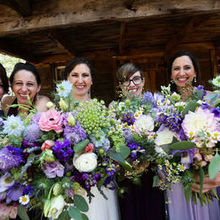 Photo for Sprigs Floral Designs Review - Bride and bridesmaids' bouquets.