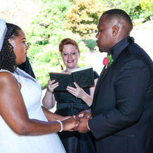 Photo for Weddings & Events by Raina Review - Raina reciting our custom ceremony!