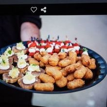Photo for Bekker's Catering Review - roaming wait staff with appetizers
