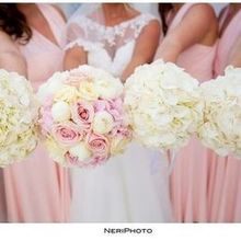 Photo for Wedding Wish Santorini Review - Bride & Bridesmaid Flowers