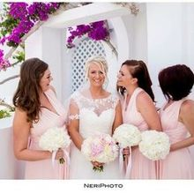 Photo for Wedding Wish Santorini Review - Bride & Bridesmaids Flowers