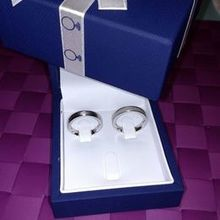 Photo for Wedding Rings Depot Review - We each got our way! 2 different rings to match us!