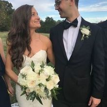 Photo of Carly Marie Events in Greensboro, NC - The happiest bride and groom