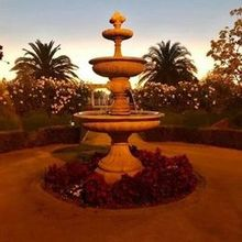 Photo of Newberry Estate Vineyards in Brentwood, CA - Gorgeous Fountain at entry way for the ceremony