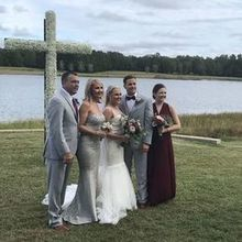 Photo of The Oaks Wedding Venue in Anderson, SC - Just a peek by the water...