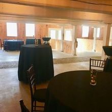 Photo of Melhorn Manor in MOUNT JOY, PA - Bottom of venue - set up for cocktail hour