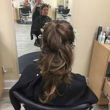 Photo of Naviina Salon & Day Spa in Wells, ME - Trial Day, chosen do. (Pic from back)