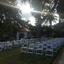 Photo for The Abbott House Review - set up for courtyard ceremony