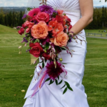 Photo for Uptown Blossoms Review - my cascading bouquet was gorgeous!