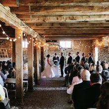 "Photo for Cloverdale Barn LLC Review - ""Bad weather"" ceremony space that was gorgeous!"