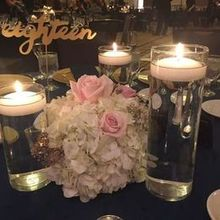 Photo of The Saratoga Hilton in Saratoga Springs, NY - Guest photo of table setup (set up perfectly!!!)