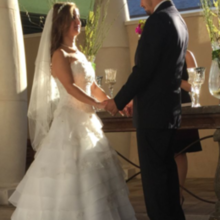 Photo for Events at North Beach Review - courtyard ceremony