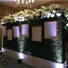 Photo for Perfectly Planned by Shari Review - Escort card wall- turned into a photo-booth later