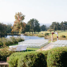 Photo of The Clubhouse at Boundary Oak in Walnut Creek, CA - Lakeside ceremony