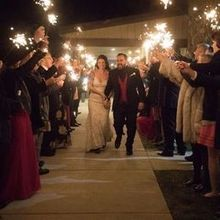 Photo for The Lodges at Gettysburg Review - Sparkler Send off at the end of the night