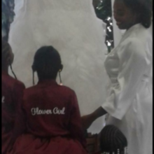 Photo for Pantagis Renaissance Review - Me & the flower girls admiring my dress