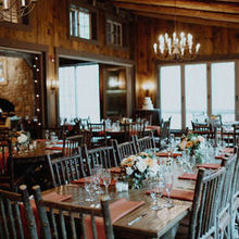 Photo for Mountain Memories at ThorpeWood Review - The Lodge set for dinner.