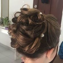 Photo for Doranna Hairstylist & Makeup Artist Review - Flower Girl hair!