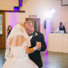 Photo for Mobile DJ Services Review - Rick creating the mood in  our Spotlight Dance.