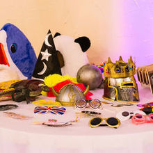 Photo for Mobile DJ Services Review - Props for the Super-Fun Photo Booth. THANKS, ROSIE!