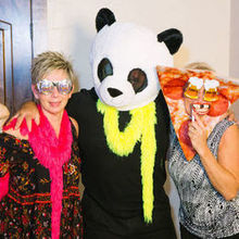 Photo for Mobile DJ Services Review - PhotoBooth Goofiness - adults liked it even more than kids!
