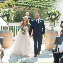 Photo of Leal Vineyards in Hollister, CA - Lavanda ceremony site. 