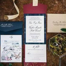 Photo of Brown Fox Creative in Burleson, TX - Invitation suite, watercolor by Berry and Peg on Etsy