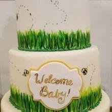 Oakleaf Cakes Wedding Cake Boston MA WeddingWire