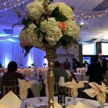Photo of Blush Custom Weddings in Mentor, OH - Centerpiece at the reception