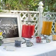 Photo of Goodrich Gourmet Catering Richmond in Richmond, VA - Custom Mimosa Bar. Brooke & Russel's big day at Jasmine.