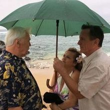 Photo for Hawaiian Island Weddings Review - Even during a Maui sun shower - everything went great!!!!