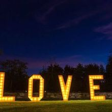 Photo of Sound Extreme Productions in Sonora, CA - Sound Exteme's beautiful LOVE letters