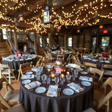 Photo for Intuition Event Coordination & Design Review - the table and lanterns she strung up!