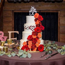 Photo for Intuition Event Coordination & Design Review - She also decorated my cake with flowers!