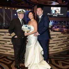 Photo Of Captain Arnold Chaplain Nautical Wedding Bells In Bayside NY